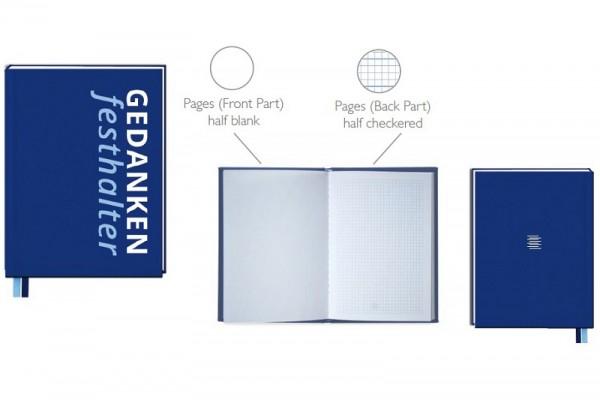 Blaues Notizbuch A5